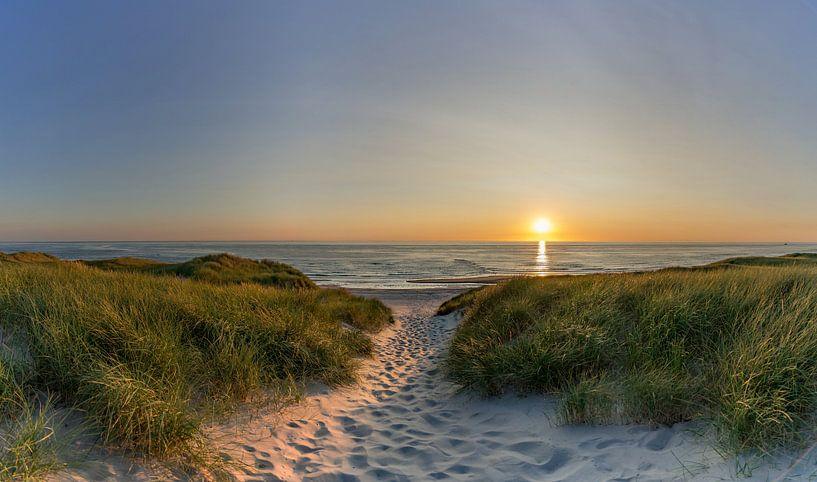Texel strandslag paal 9 paal 12 Bollekamer van Texel360Fotografie Richard Heerschap