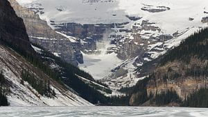 Avalanche in Lake Louise