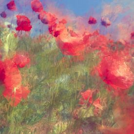 Onder invloed van de wind....... van Martine Affre Eisenlohr