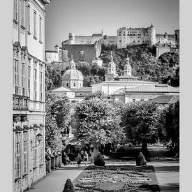 Im Fokus: SALZBURG Herrlicher Blick auf die Festung Hohensalzburg von Melanie Viola
