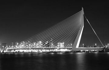 Erasmusbrug Rotterdam van Sem Verhey