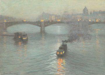 L. Birge Harrison~Kreditnacht an der Seine