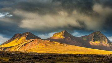 Paysage à l'intérieur de l'Islande sur Chris Stenger