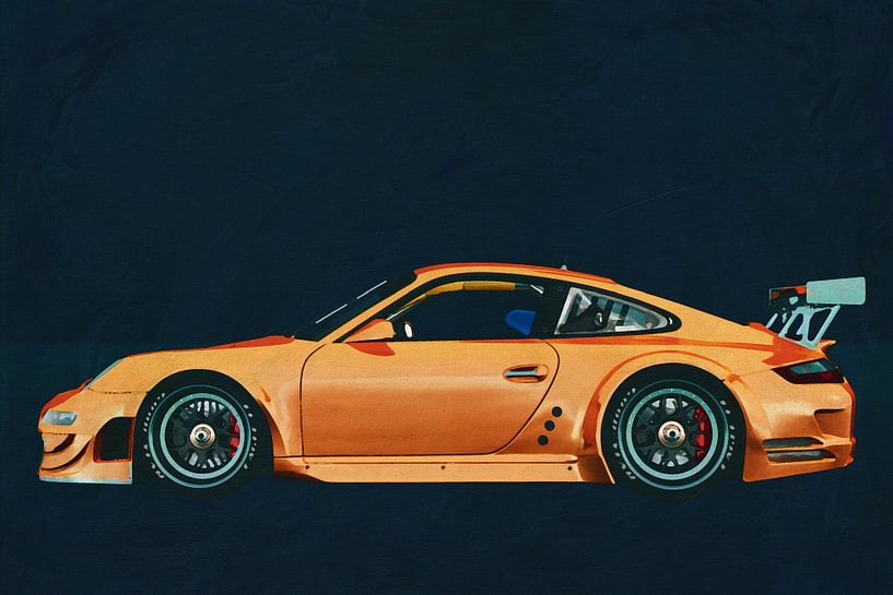 Porsche 911 GT3 version sur Jan Keteleer