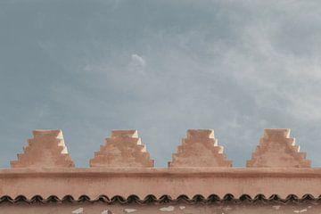 Gebäude von Marrakech von Sophia Eerden
