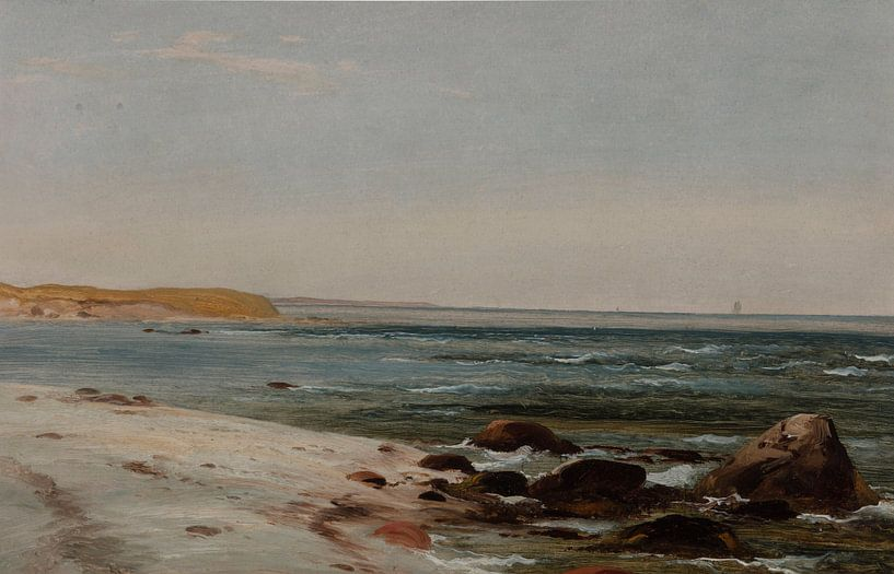 Winslow Homer-Maine Küste von finemasterpiece