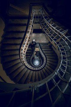 Escalier de Prague sur Iman Azizi