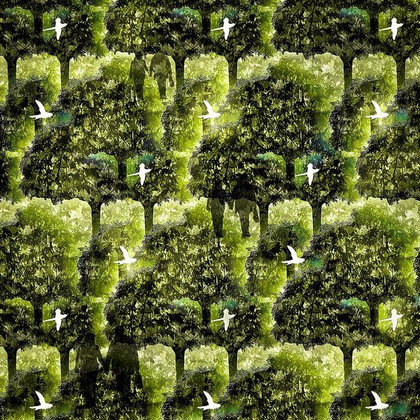 Birds flying high van Ruben van Gogh