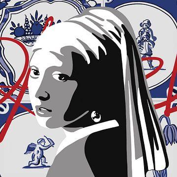 "Des ""Mädchens mit der Perle"" von Jole Art (Annejole Jacobs - de Jongh)"