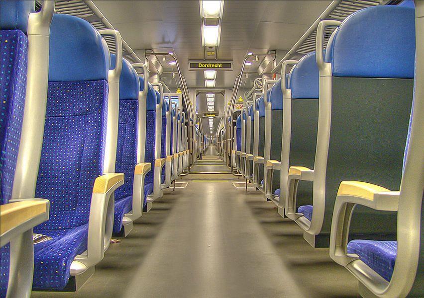 Trein van Arkel naar Dordrecht