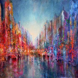 Vibrierendes Leben: Die Stadt am Fluss von Annette Schmucker