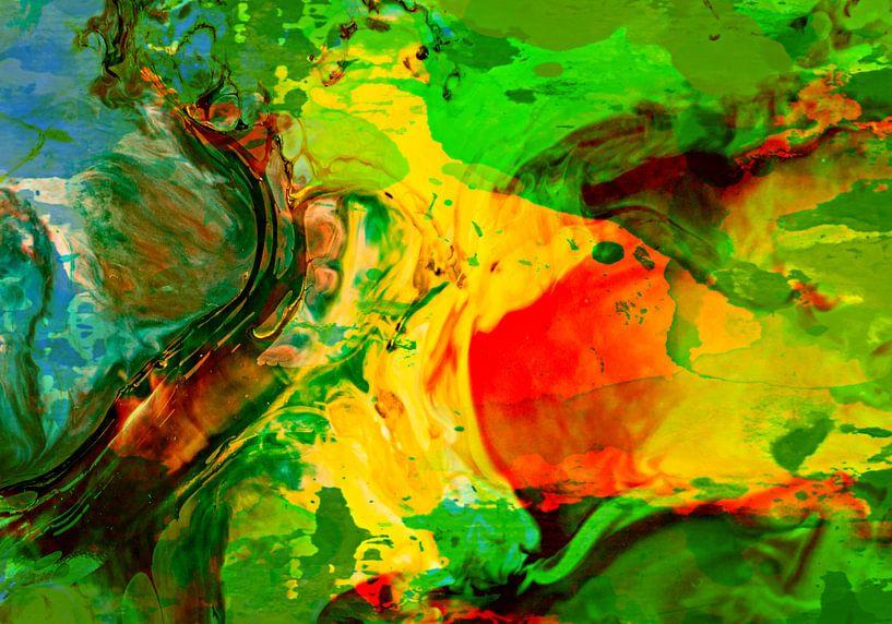 Abstrakt Liquid four von PictureWork - Digital artist