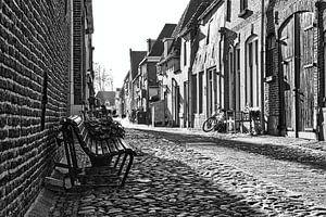 Het bankje in de straat van Wijnand Medendorp