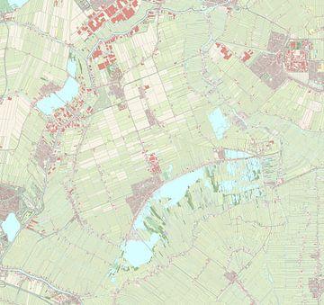 Kaart vanNieuwkoop