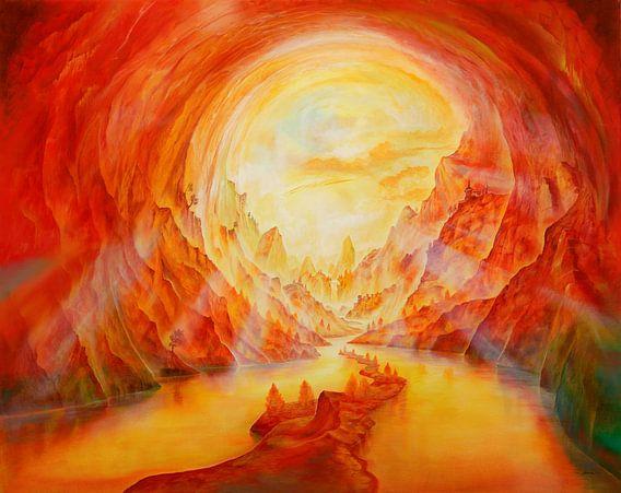 Höhlenleben van Silvian Sternhagel