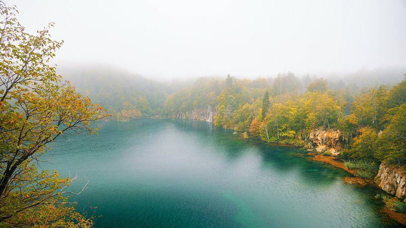 Plitvice in de herfst van Silvio Schoisswohl