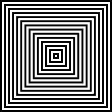 Genesteld in het centrum 01x01 N=14 W van Gerhard Haberern