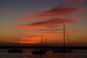 Sunset Morro Bay van Rob Walburg