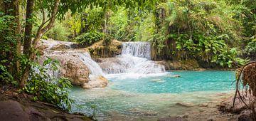 De Kuang Si waterval, Laos van Rietje Bulthuis