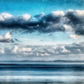 Wolken über der Ostsee sur Heiko Westphalen
