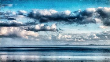 Wolken über der Ostsee von Heiko Westphalen