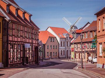 Altstadt von Röbel an der Mecklenburgische Seenplatte von Animaflora PicsStock