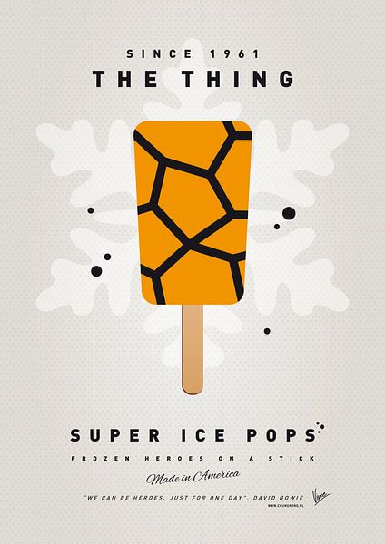 My SUPERHERO ICE POP - The Thing van Chungkong Art
