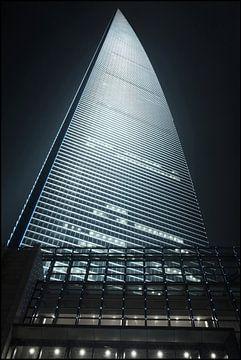 World Financial Cente Wolkenkratzer in Pudong District Shanghai 4 von Tony Vingerhoets