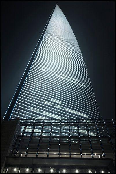 gratte-ciel World Financial Cente dans le district de Pudong Shanghai 4 sur Tony Vingerhoets