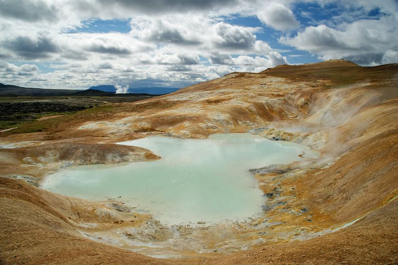 IJsland - vulkanisch landschap van Ralf Lehmann