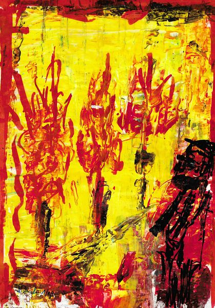 Hölle 1 von Johann Bucher