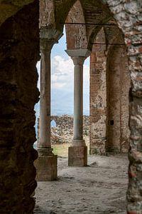 Uitzicht vanaf Mystras van Angela Versteijnen