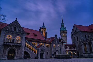 Braunschweig op het blauwe uur van Marc-Sven Kirsch