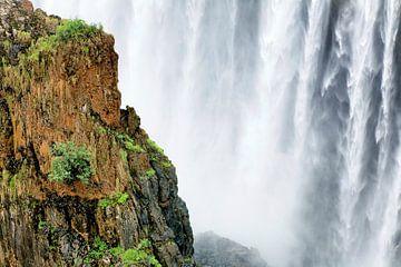 De Victoria watervallen bij Livingstone en Victoria Falls von Evert Jan Luchies