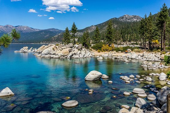Sand Harbor Beach Lake Tahoe van Marja Spiering