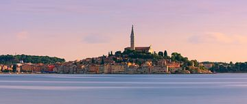 Panorama Rovinj, Istrie, Kroatie van Henk Meijer Photography