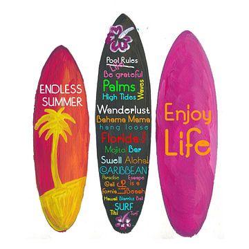Surfboardfilosofie - Geniet van het leven, reizen en surfen van Markus Bleichner