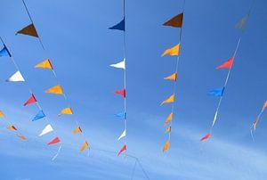 Rood, wit, blauw en oranje van Jon Houkes