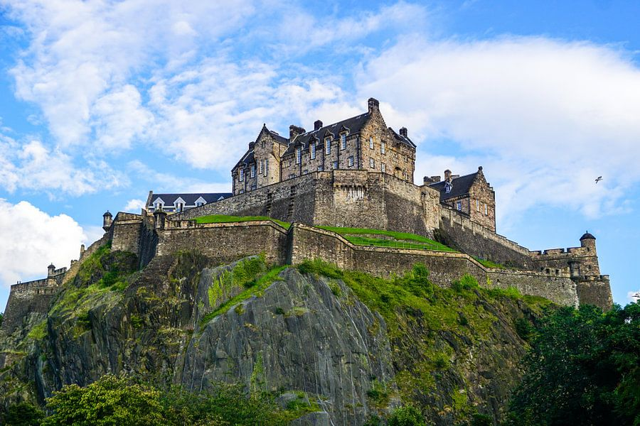 Edinburgh Castle, Edinburgh Schotland van Arjan Schalken