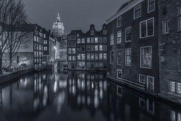 Oudezijds Voorburgwal en Zeedijk in Amsterdam - 4 van Tux Photography