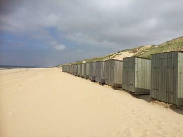 Strandhuisjes von Margriet Adema