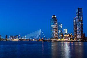 Rotterdam - Blauwe uur van