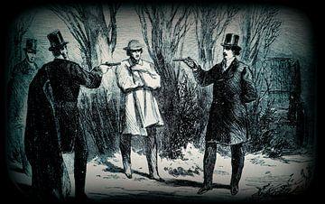 Das Duell zwischen den  Aristokraten und den Richter van