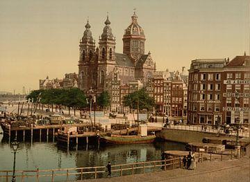 Nicolaaskerk, Amsterdam von Vintage Afbeeldingen