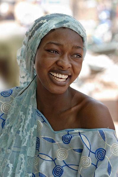 Women from Mali Blue
