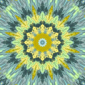 Mandala-stijl 33 van Marion Tenbergen