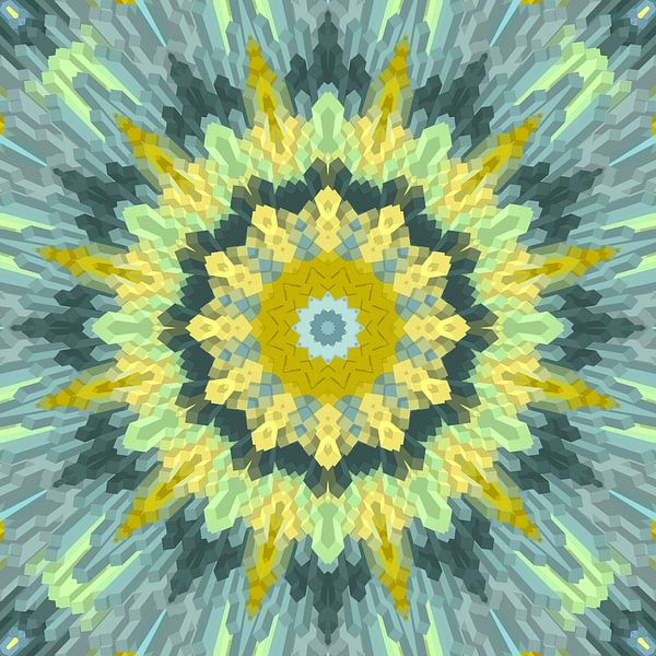 Mandala  Art 33 von Marion Tenbergen