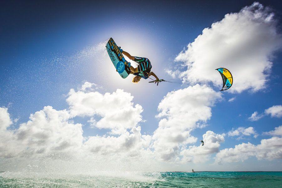 Kitesurf Bonaire, Dylan van Andy Troy