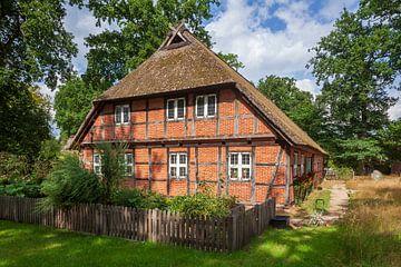 Heidemuseum Dat ole Huus, Wilsede, Lüneburger Heide, Niedersachsen, Deutschland