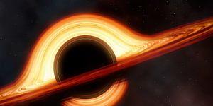 Schwarzes Loch (Ausschnitt)